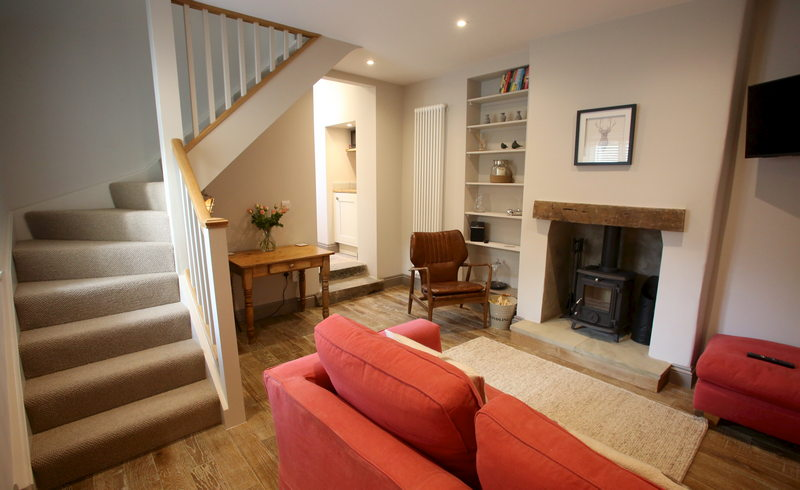 Luxury self catering holiday cottage for 2 at Downside House, Chilcompton0