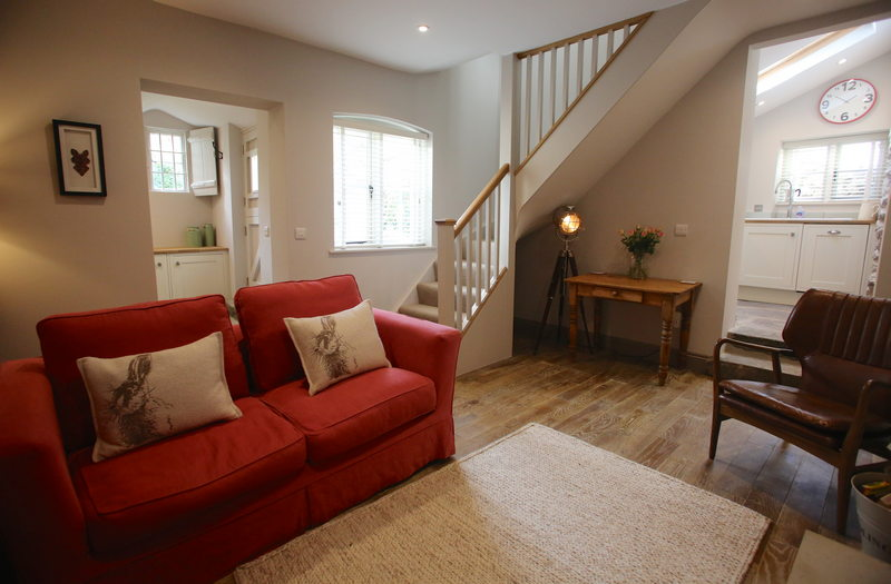 Luxury self catering holiday cottage for 2 at Downside House, Chilcompton1